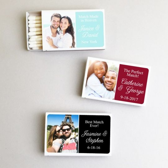 All Personalized Matchboxes favors